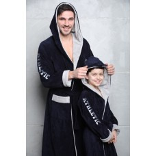 Подростковый бамбуковый халат Athletic Junior