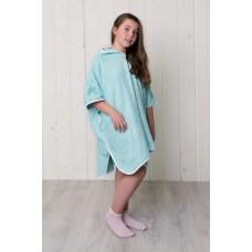 Махровое халат-пончо