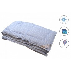 Одеяла иск.лебяжий пух в тике, всесезонное