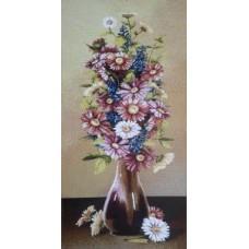 Картина гобелен цветы