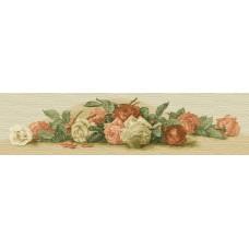 Винтажные розы 35х145