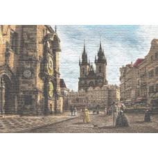 Прага.  Староместская  площадь.