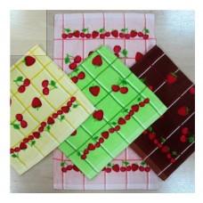 Полотенце  «ягодки» кух.  махровое