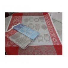 Комплект из  2х полотенец  п/лен п/тк
