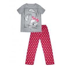 Пижама детская для девочки с принтом
