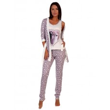 Комплект жен Ларец (Халат и пижама)