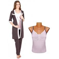 Комплект жен (Халат и пижама)