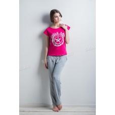 Костюм женский  (футболка+брюки)