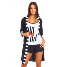 Комплект жен Сюрприз (Халат и пижама).