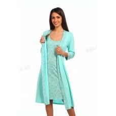 Комплект (халат+сорочка)
