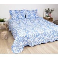 """Комплект для спальни """"Lux Cotton"""" хлопок принт 240*240+ 2 нав."""
