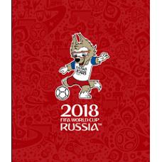 Плед Air Soft с официальной символикой Чемпионата мира по футболу FIFA 2018 в России