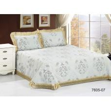 К-т для  спальни  Жаккард с  кружевом  «Амели» 220*240 + 2 нав.