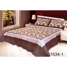 Комплект  для спальни  ПЭЧВОРК  «Rose Mi»  хлопок