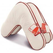 Эргономичная подушка «BOOMERANG» - LUXURY QUALITY. Наполнитель:«FOSSFILL 3000 LUX»- вискоза