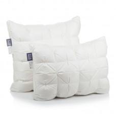 Подушка Люксовая коллекция с буфами 100% белый пух , батист