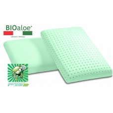 БИО-подушки с  памятью формы с  натуральным  экстрактом АЛОЭ 60*40*12