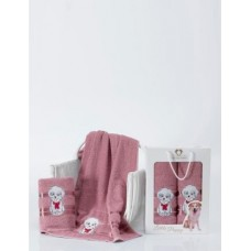 """Подарочный набор из 2х полотенец """"Символ года"""" ОТК"""