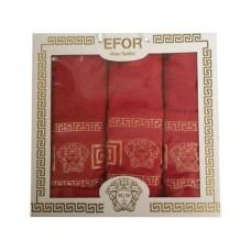 Набор из 3х махр. полотенец, 100% хлопок Versace
