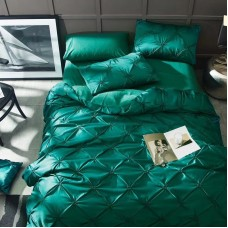 Комплект постельного белья Сатин-Шёлк DH007 Евро наволочки 50-70