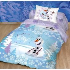 """Комплект постельного белья Холодное сердце  """"Снеговик"""