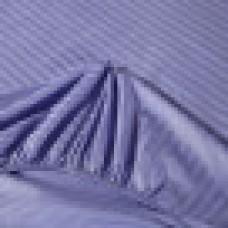 Постельное белье Однотонный страйп-сатин на резинке CFR005