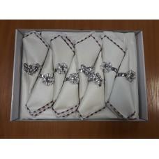 Комплект подарочный скатерть 150*220 + 8 салфеток