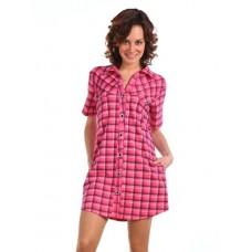 Халат-рубашка женская
