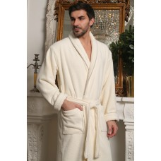 Классический мужской халат из микрокоттона Luxor