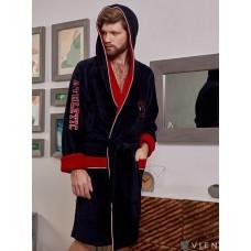 Махровый халат ATHLETIC короткий