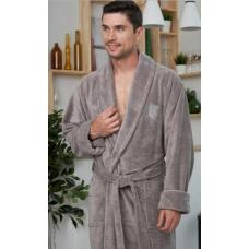 Классический мужской бамбуковый халат MARCELO