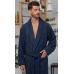 Классический мужской бамбуковый халат PRESTIGE