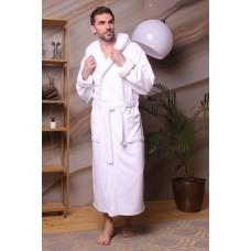 Мужской халат с капюшоном Zevs
