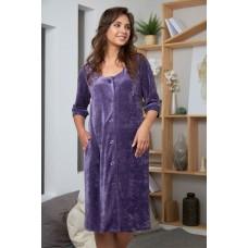 Женский велюровый халат ADEL