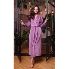 Женский велюровый халат Roshel