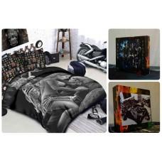 Комплект постельного белья Байкеры А33 Hells Angels