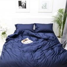 Постельное белье из сатина Персеваль Черный (темно-темно синий), Your Dream