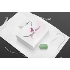 Постельное белье из сатина Персеваль Белый, Your Dream