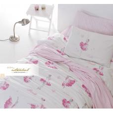 Комплект постельного белья Istanbul Home GENC RANFORCE (BALERINA) 1.5 сп