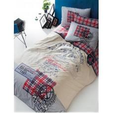 Комплект постельного белья Istanbul Home GENC RANFORCE (ROUTE) 1.5 сп