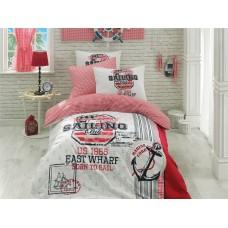 Комплект постельного белья Istanbul Home GENC RANFORCE (SAILOR) 1.5 сп