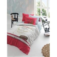 Комплект постельного белья Istanbul Home GENC RANFORCE (MARINA) 1.5 сп