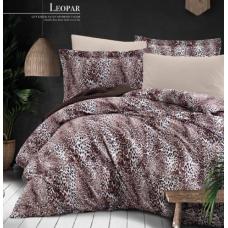 Комплект постельного белья  Ecosse Satin (LEOPAR) сатин евро