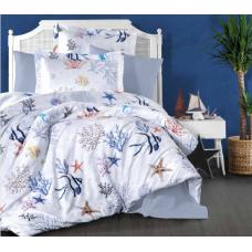 Комплект постельного белья  Ecosse Satin (MERCAN) сатин евро