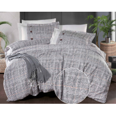 Комплект постельного белья  Ecosse Satin (NEVIO) сатин евро