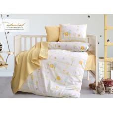 Комплект постельного белья в кроватку Istanbul Home, с пледом