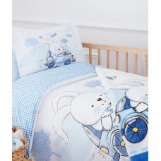 Постельное бельё в кроватку с пледом Ozdilek