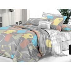 Комплект постельного белья, сатин Гелиос