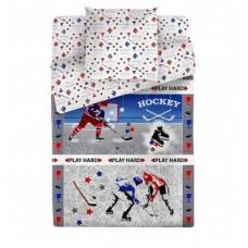 Постельное белье поплин Bravo, Хоккей
