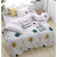 Комплект постельного белья люкс-сатин на резинке AR097